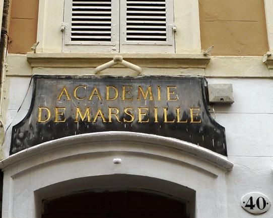 L'entrée du bâtiment, rue Thiers