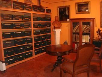Le bureau de Monsieur Thiers, au deuxième étage.