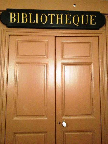 La porte de la Bibliothèque