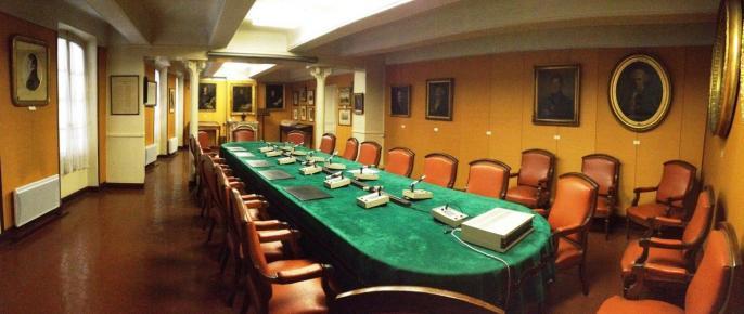 La salle de conférence