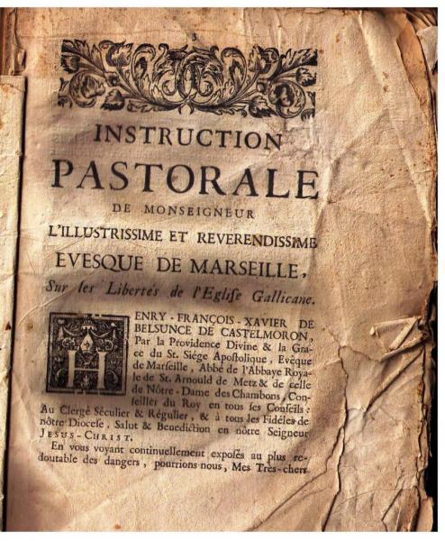 Pastorale de 1733
