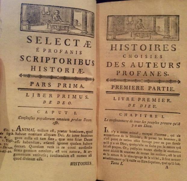Histoires choisies des auteurs profanes
