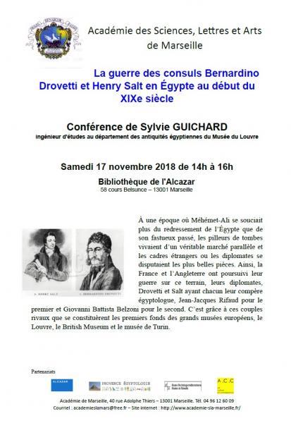 20181117 conference la guerre des consuls