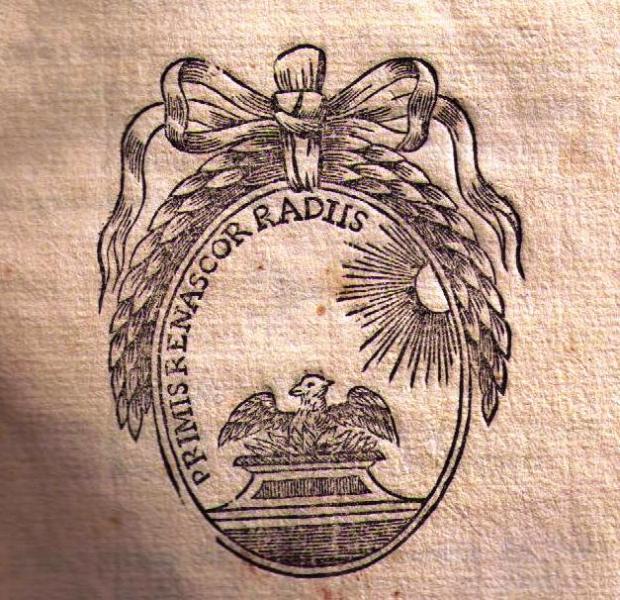 Emblème du XVIIIe siècle