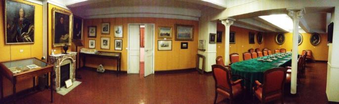 Salle de réunion des Académiciens à l'hôtel de la rue Thiers